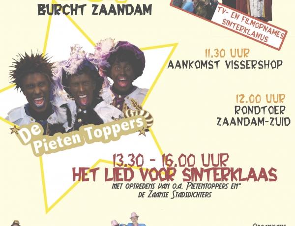 Zaterdag 22 november 2014 Sinterklaasfeest op de Burcht te Zaandam